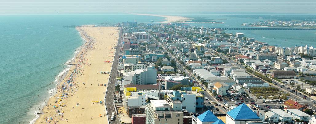 Ocean City Beach Atlantic City