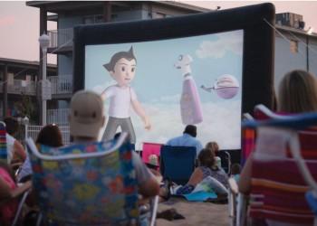 Free Movies on The Beach